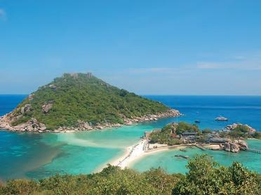 泰國灣的掌上明珠 夜空中最亮的星